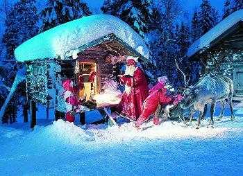 Immagini Natalizie Lapponia.Ma Dove Vive Babbo Natale Rovaniemi Viaggisempre